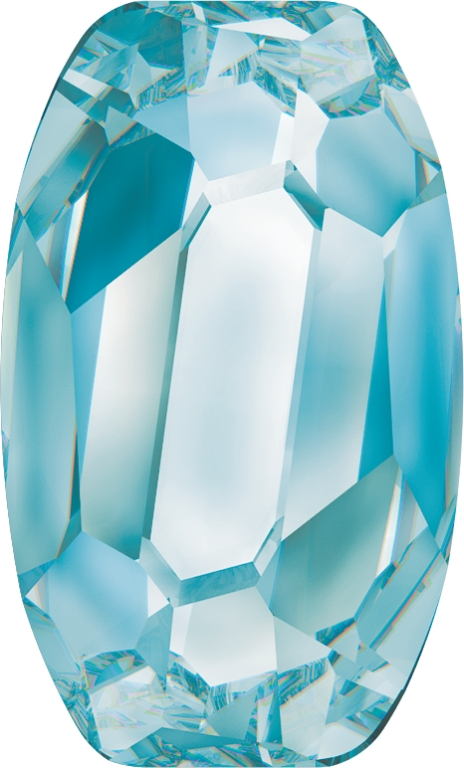 SWAROVSKI ELEMENTS 4855 Organic Oval Fancy Stone