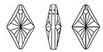SWAROVSKI 6320 Rhombus Pendant