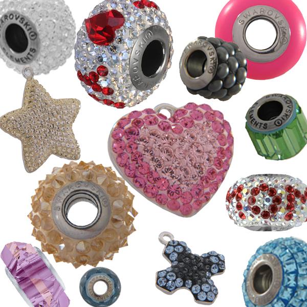 Swarovski BeCharmed & Pave Beads