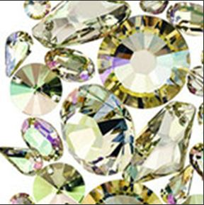 SWAROVSKI ELEMENTS CRYSTAL LUMINOUS GREEN