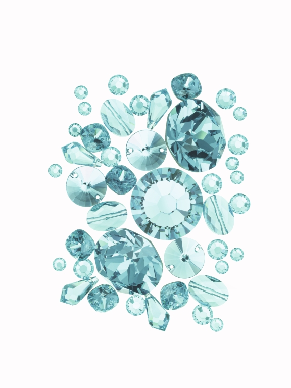 SWAROVSKI ELEMENTS-Light Turquoise
