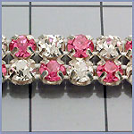Rhinestone Banding with Colored Rhinestones