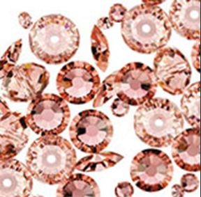 SWAROVSKI ELEMENTS ROSE PEACH