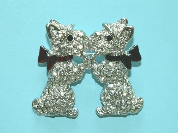 Rhinestone Pins & Jewelry