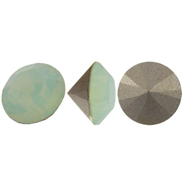 Swarovski 1028 Round Rhinestones Chatons pp32 Chrysolite Opal