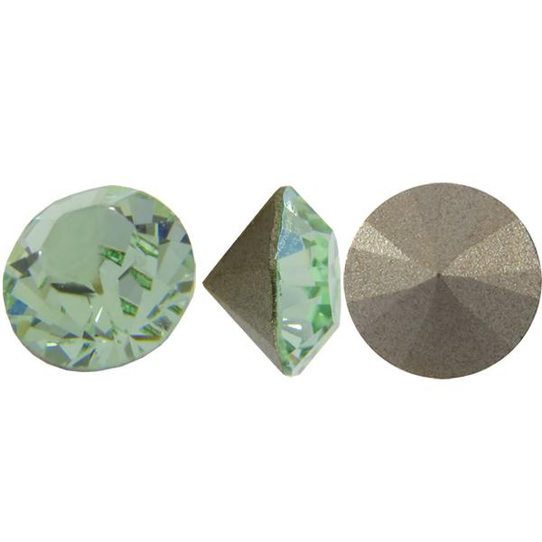 Swarovski 1028 Round Rhinestones Chatons pp32 Chrysolite