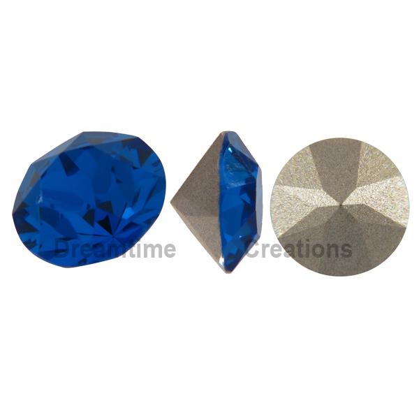SWAROVSKI 1088 XIRIUS Chaton ss39 Capri Blue