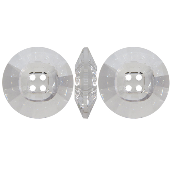 Swarovski 3018 rivoli button 4 holes crystal unfoiled - Swarovski crystal buttons ...
