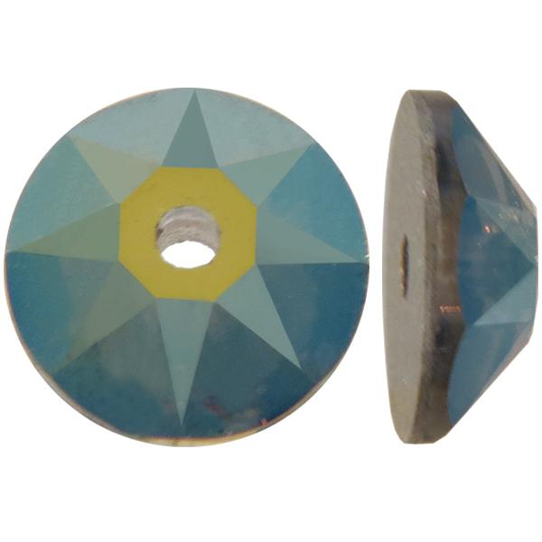 Swarovski 3188 Lochrosen Rhinestones 5mm Crystal Iridescent Green
