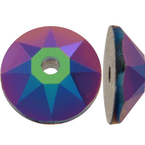 Swarovski 3188 Xirius Lochrose Crystal Scarabaeus Green 3mm