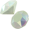 SWAROVSKI 1088 XIRIUS Chaton ss29 Crystal Powder Green AB