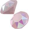 SWAROVSKI 1088 XIRIUS Chaton ss29 Crystal Powder Rose AB