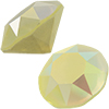 SWAROVSKI 1088 XIRIUS Chaton ss29 Crystal Powder Yellow AB