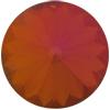 SWAROVSKI 1122 Rivoli Rhinestones 18mm Crystal Mahogany