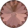 SWAROVSKI 1122 Rivoli Rhinestones 18mm Crystal Rosaline