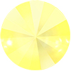 Swarovski 1122 Rivoli Rhinestones 14mm Crystal Powder Yellow