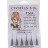 The Crystal Ninja, 6 Medium Syringe Tips, 16 Gauge