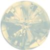 Swarovski 1695 - Celine Cousteau Designer Series Sea Urchin Round Stone Partly Frosted 10mm White Opal
