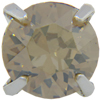 SWAROVSKI Single Stone Settings 17704 ss39 Crystal Golden Shadow