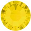 Swarovski 2038 - Xilion Flat Backs Hotfix SS10 Yellow Opal