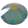 SWAROVSKI 2058 Rhinestones FlatBack 12ss Crystal Iridescent Green