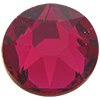 SWAROVSKI 2078 Hot Fix Rhinestones ss12 Ruby, XIRIUS
