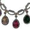 Adjustable Statement Necklace featuring crystals from Swarovski