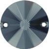 Swarovski 3200 - Rivoli Sew-On Stone 10mm Graphite