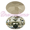 SWAROVSKI 4120 Oval Rhinestones 14x10mm Black Diamond