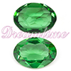 Swarovski 4120 Oval Green Turmaline Unfoiled