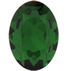 SWAROVSKI  4120 Oval Rhinestones 6x4 mm Dark Moss Green