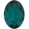 SWAROVSKI 4120 Oval Rhinestones 14x10 Emerald