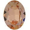 SWAROVSKI 4120 Oval Rhinestones 14X10 mm Light Peach
