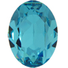 SWAROVSKI 4120 Oval Rhinestones 14x10mm Light Turquoise