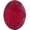 SWAROVSKI 4120 Oval Rhinestones 12x10 Ruby