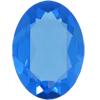 SWAROVSKI 4120 Oval Rhinestones 12x10 Sapphire Unfoiled