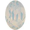 SWAROVSKI 4120 Oval Rhinestones 14X10 mm White Opal