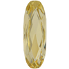 SWAROVSKI 4161 Elongated Ovals 27x9mm Jonquil
