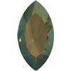 Swarovski 4227 Large Navettes 32x17mm Crystal Verde