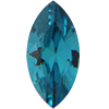 SWAROVSKI 4231 Antique Navettes 10 x 5 mm Indicolite
