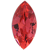 SWAROVSKI 4231 Antique Navettes 10 x 5 mm Padparadscha