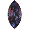 SWAROVSKI 4231 Antique Navettes 10 x 5 mm Tanzanite