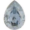 SWAROVSKI 4320 Pear Rhinestones 14x10 Crystal Blue Shade