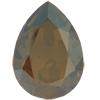 SWAROVSKI 4320 Pear Rhinestones 14 x 10 Crystal Bronze Shade