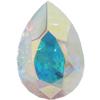 SWAROVSKI 4320 Pear Rhinestones 10 x 7 mm Crystal AB