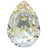 SWAROVSKI 4320 Pear Rhinestones 10 x 7 mm Crystal Champagne