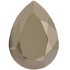 SWAROVSKI 4320 Pear Rhinestones 14 x 10 Crystal Metallic Light Gold