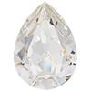 SWAROVSKI 4320 Pear Rhinestones 10 x 7 mm Crystal