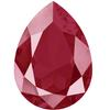 Swarovski 4320 Pear Fancy Stone 14x10mm Crystal Dark Red