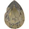 SWAROVSKI 4320 Pear Rhinestones 14x10 Jonquil Satin